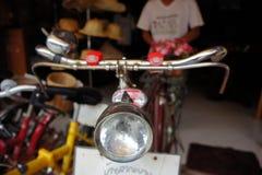Loja retro das bicicletas em Tailândia Fotos de Stock Royalty Free