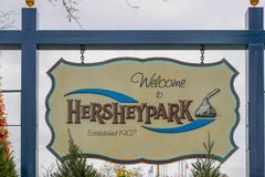 Loja super do mundo do chocolate do ` s de Hershey fotos de stock