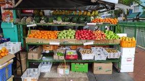 Loja vegetal no mercado em pouca Índia em Singapura fotos de stock royalty free