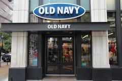 Loja velha da marinha, Chicago Imagem de Stock