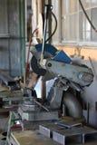 Loja velha do trabajo em metal Imagem de Stock
