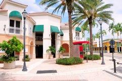 Lojas da rua da compra & negócios, FL imagens de stock royalty free