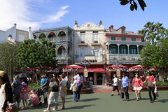 Lojas de Disneylândia do Tóquio Fotografia de Stock