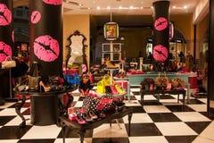 Lojas de especialidade Venetian da rua comercial do casino Fotos de Stock Royalty Free