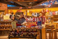 Lojas de especialidade Venetian da rua comercial do casino Foto de Stock Royalty Free