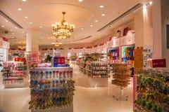 Lojas de especialidade Venetian da rua comercial do casino Imagem de Stock