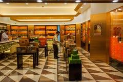 Lojas de especialidade Venetian da rua comercial do casino Fotografia de Stock