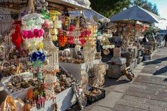 Lojas de lembrança do beira-mar fotografia de stock