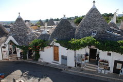 Lojas de lembrança de Alberobello Foto de Stock Royalty Free