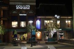 Lojas do quadrado de Overton, Memphis, Tennessee fotografia de stock