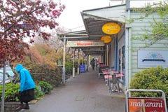 Lojas na alameda de Leura em Leura, Novo Gales do Sul, Austrália Fotos de Stock Royalty Free