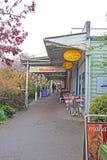 Lojas na alameda de Leura em Leura, Novo Gales do Sul, Austrália Imagens de Stock Royalty Free