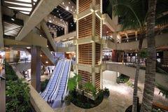 Lojas no centro havaiano real Fotografia de Stock Royalty Free