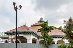 Loji Gandrug, in Solo Indonesia. The official residence of the mayor of Solo stock image