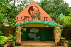 Loka Kawi przyrody parka fasada w Sabah, Malezja obrazy royalty free