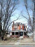 Lokaal huis in Atchison Kansas Stock Foto