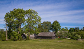 Lokaal huis in Saaremaa Royalty-vrije Stock Fotografie