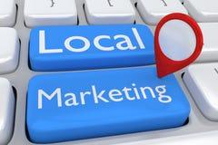 Lokaal Marketing concept royalty-vrije illustratie