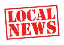 Lokaal Nieuws royalty-vrije illustratie