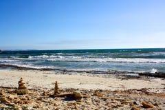 Lokaal strand in Mallorca, Spanje Royalty-vrije Stock Foto