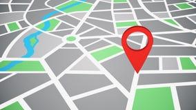 Lokacja sprecyzowana, mapa pointeru ikona ilustracji