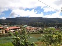 Lokacja w wioski surrondig zdjęcia royalty free