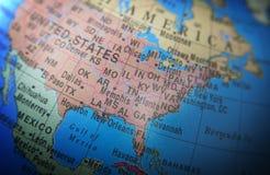 Lokacje: Stany Zjednoczone Ameryka Fotografia Stock
