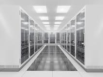 Lokal för nätverksserver Arkivfoton