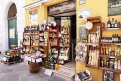 Lokal kokkonst shoppar Arkivbild