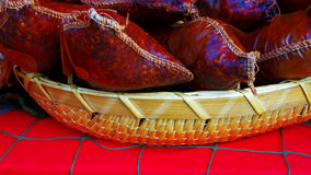 Lokal meat dish Royalty Free Stock Images