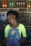 Local woman on Zanzibar Royalty Free Stock Image