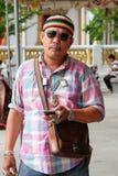 Lokala män Asien Thailand Royaltyfria Bilder
