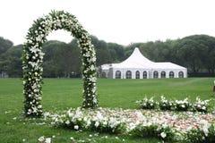 lokalbröllop Fotografering för Bildbyråer