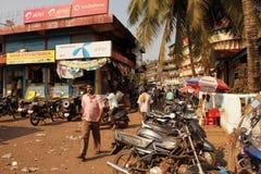 Lokale Ansicht in Indien Stockfotografie