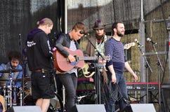 Lokale band Royalty-vrije Stock Foto's