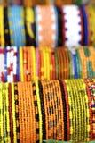 Lokale Beadwork Royalty-vrije Stock Foto's