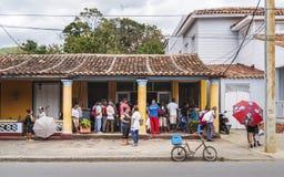 Lokale cakewinkel in Vinales, Unesco, Pinar del Rio Province, Cuba, de Antillen, de Caraïben, Midden-Amerika royalty-vrije stock fotografie