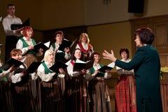Lokale Chor-Konkurrenz Lizenzfreies Stockbild