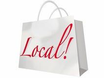Lokale Einkaufstasche Lizenzfreies Stockfoto