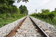 Lokale Eisenbahn Stockbild