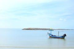 Lokale fisherman& x27; s boot op overzees 2 Stock Foto's