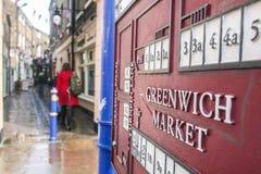 Lokale Flohmarkt Greenwichs Lizenzfreie Stockfotos