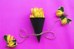 Lokale flora van kananga-olie de gele bloemen van Azië royalty-vrije stock foto
