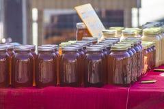 Lokale honing voor verkoop royalty-vrije stock afbeeldingen