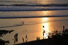 Lokale Jungen in Bali Stockbilder