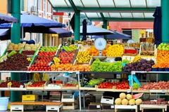 Lokale markt Royalty-vrije Stock Foto's