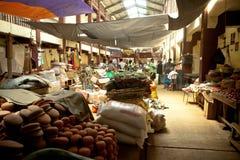 Lokale markt in Sri Lanka - April 2, 2014 Stock Foto's