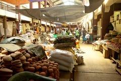 Lokale markt in Sri Lanka - April 2, 2014 Stock Foto