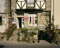 Lokale Patisserie, Bretagne, Frankrijk Stock Fotografie