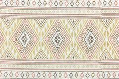 Lokale patroonontwerp gemaakte stof en zijde het Noord- van Thailand Stock Foto's
